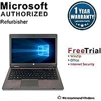 2018 HP PROBOOK 6460B Laptop Computer(intel core i3 2350M 2.3Ghz, 4G DDR3 RAM, 320G HDD,DVD-ROM, Windows 7 Pro 64-Bit) (Certified Refurbished)