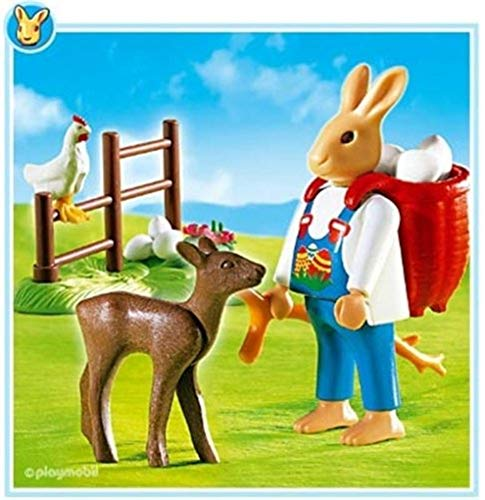 (Playmobil Bunny with Backpack)