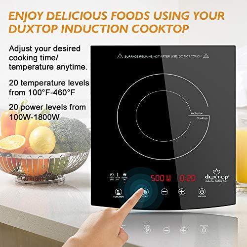 Amazon.com: DUXTOP - Quemador portátil de inducción para ...