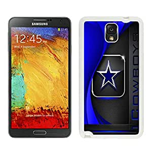 Samsung Galaxy Note 3 Dallas Cowboys 2 White Cellphone Case Beautiful and Cool Design