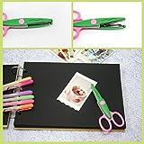 HOMEE Safe Paper Edging Scissors for Kids 6PK