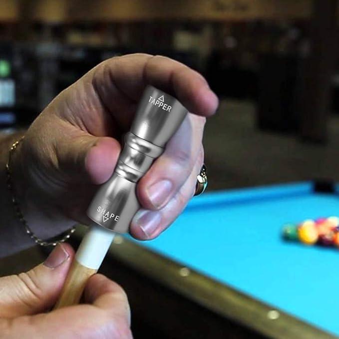 Tanice 3 en 1 Snooker Taco de Billar Herramienta de Punta de ...