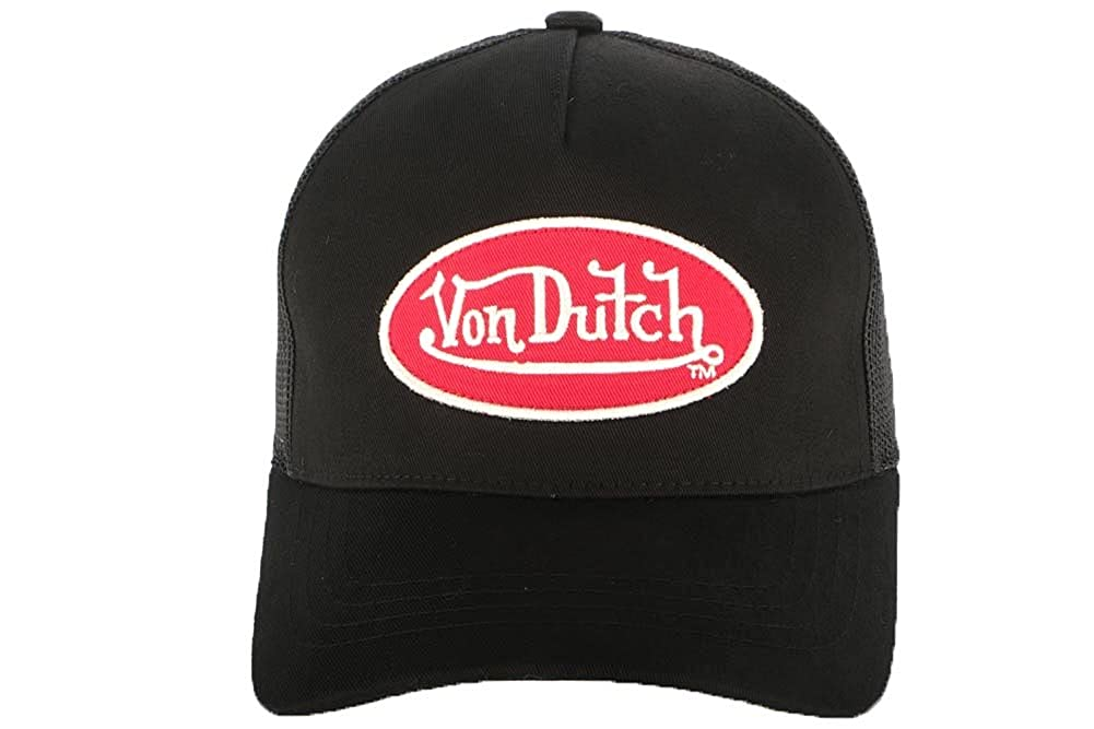 Von Dutch – Gorra de camionero Von Dutch, hombre/mujer negro Talla única : Amazon.es: Ropa y accesorios