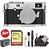 Leica M-P (Typ 240) Digital Rangefinder Camera (Silver) + Pro Accessory Kit