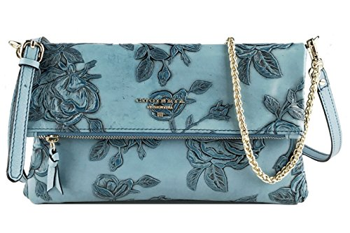 Italian Leather Clutch - 7