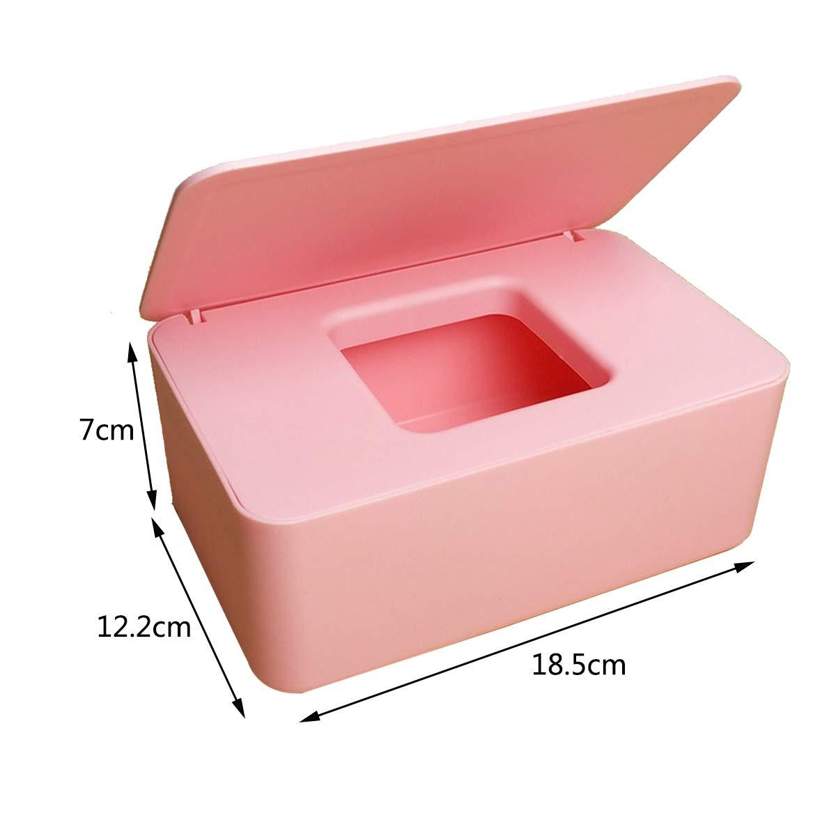 Box f/ür Babyt/ücher ZUNBO Feuchtt/ücher-Spender f/ür Babys Grau Sterilisation von Papiert/üchern