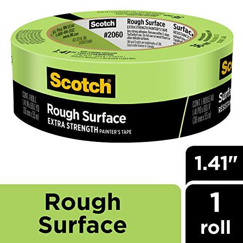 """Scotch 2060-24A Masking Tape 0.94/"""" x 60.1 Yard Green"""