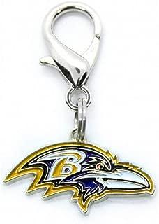 product image for Diva-Dog NFL Football 'Baltimore Ravens' Licensed Team Dog Collar Charm