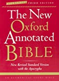 The New Oxford Annotated Bible with the Apocrypha, Augmented Third Edition, New Revised Standard Version, , 0195288831