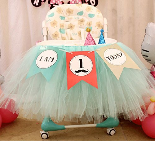 1st Birthday Boy 2 In 1 First Decoration Kit Bunting Flag I Am Today Banner One Cake Topper