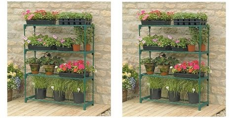 Gardman R691 4-Tier Greenhouse Staging, 35