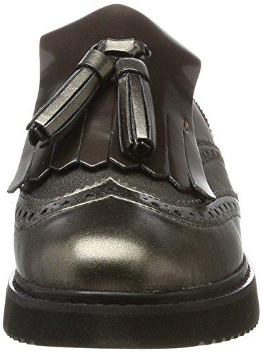 Dk Grey Geox Vestir Thymar para Mujer C de Marrón Zapatos D Taupe qUO7qa