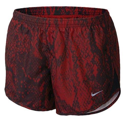 Nike Women's Red Printed Modern Tempo Running Short (S)
