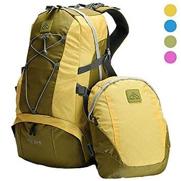 información para 97166 5e720 Polar Fire Trekking Mochila de senderismo 30 litros con un paquete  desmontable de 5 litros de día, bolsas de vacaciones, apto para padres y  niños ...