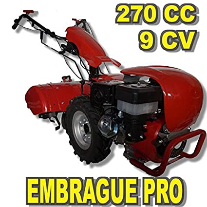 Motocultor PROFESIONAL 9CV PRO-RAPTOR 3+2 velocidades