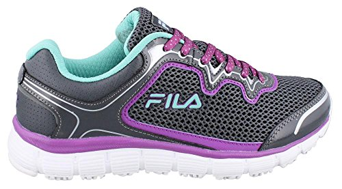 Cockatoo Castle Fila Cactus Work Slip Women's Start Rock Purple Resistant Shoe Flower Fresh Memory O8SqwOR