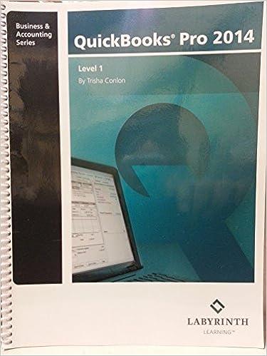 QuickBooks Pro 2014, Level 1 - Lib