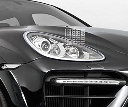 Porsche Cayenne Turbo 2006-2010 Headlight Chrome Trim Upgrade (One Pair)