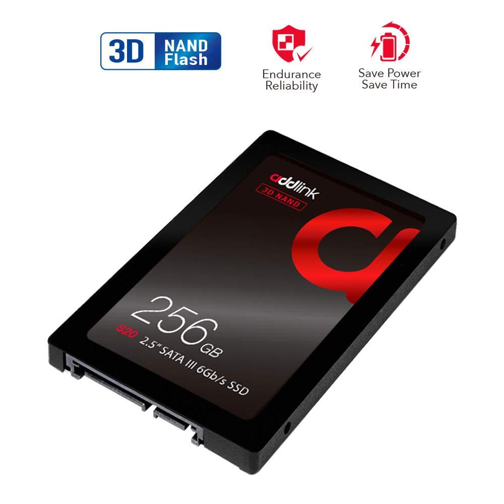 256GB SSD 3D NAND 2.5 ADDLINK S20