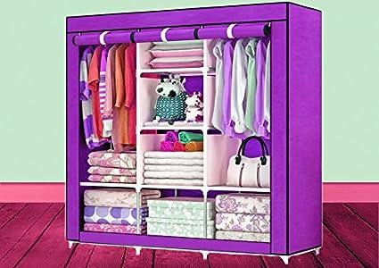 sk Plastic Easy Folding Multipurpose Wardrobe