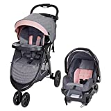 Best Baby Stroller Travel Systems - Baby Trend Skyline 35 Travel System, Starlight Pink Review
