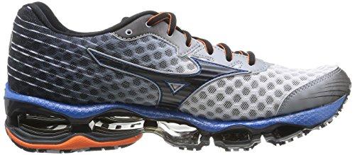 Mizuno - Zapatos para hombre Blanco/Negro/Azul