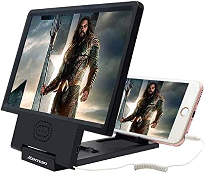 Comtervi - Lupa de Pantalla para Smartphone, Pantalla HD de 8,5 ...