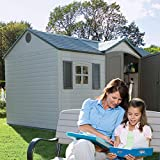 Lifetime 6446 Outdoor Storage Shed with
