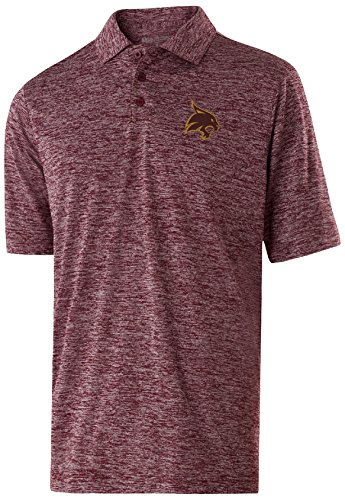 NCAA Texas State Bobcats Adult Men Holloway Electrify 2.0 Polo  Large