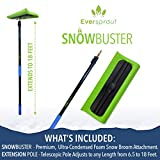 EVERSPROUT Never-Scratch SnowBuster 6.5-to-18 Foot