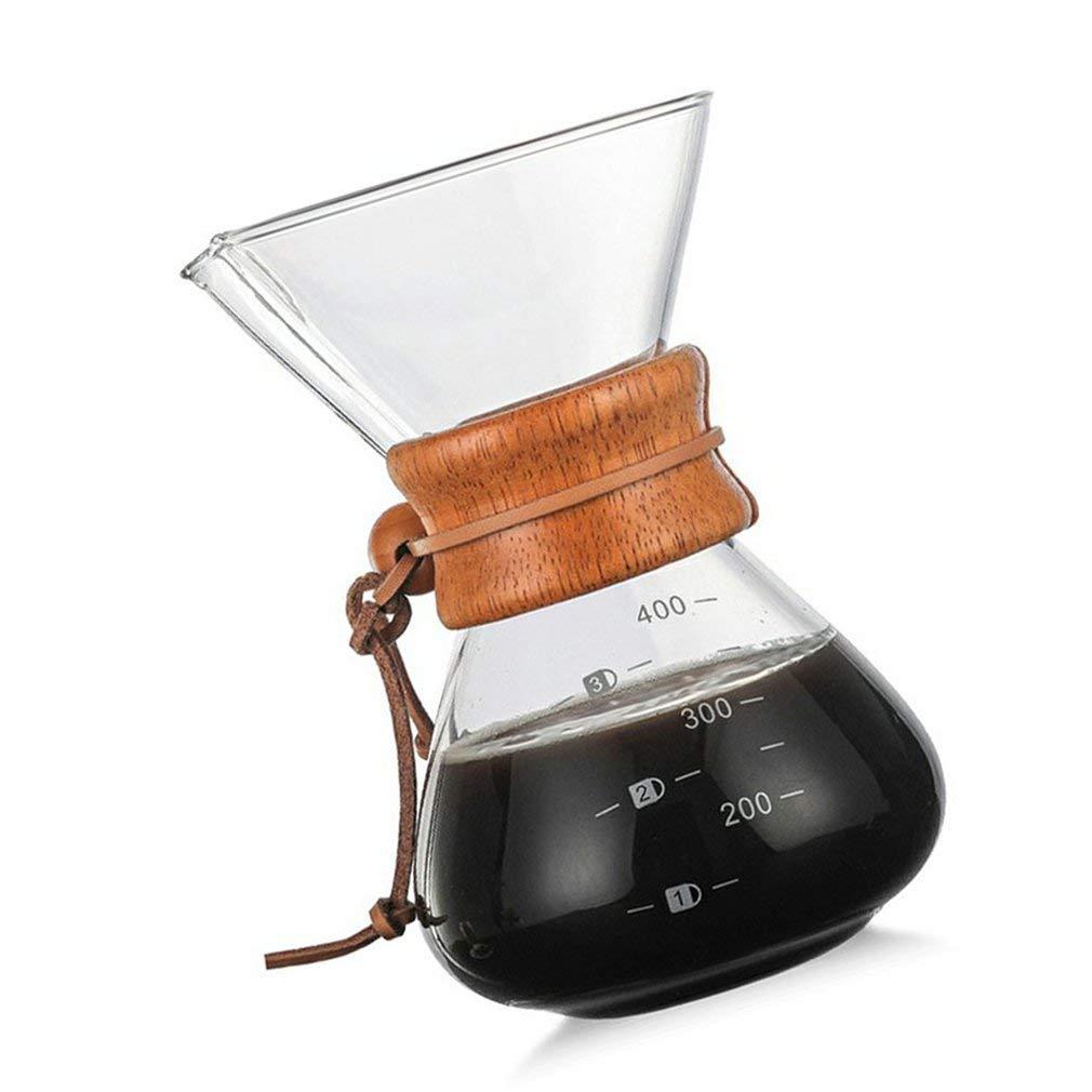 Cafetera clásica de vidrio para café expreso Joycececi ...