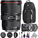35 mm ef lens - Canon EF 16-35mm f/4L IS USM Lens w/Advanced Photo and Travel Bundle - Includes: Altura Photo Sling Backpack, UV-CPL-ND4, Camera Cleaning Set