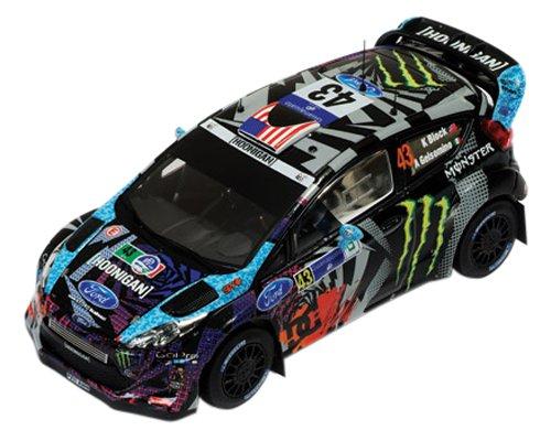 1/43 フォード フィエスタ RS WRC 2013年メキシコラリー K.Block/A.Gelsomino #43(ブラック×ライトブルー) RAM548