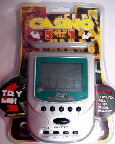 Casino 5 in 1 Handheld Game