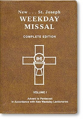 Saint Joseph Weekday Missal Vol. 1