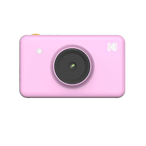 Kodak Mini Shot Wireless Instant Digital Camera & Social Media Portable Photo Printer, Lcd Display, Premium Quality Full Color Prints, Compatible W/I Os & Android (Pink) by Kodak
