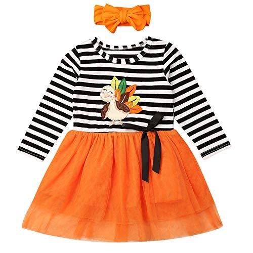 Toddler Watermelon Costume (Lefyira Baby Kids Girls Dress Sleeveless Watermelon Print Ruffle Hem Princess Sundress Summer Casual Outfit (1-2Y,)