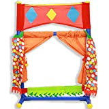 IQ Toys Table Top Puppet Theater Fold-able & Easy to Store