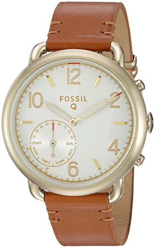 Fossil Q Tailor Gen 2 Hybrid Brown Leather Smartwatch