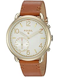 Fossil Q Tailor Gen 2 Women's Brown Leather Hybrid Smartwatch FTW1127