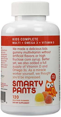 SmartyPants Childrens Complete Multivitamin Gummies product image