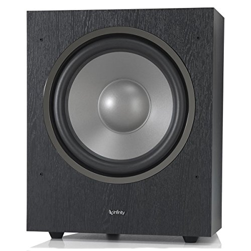 "Infinity SUB R12 Reference Series 12"" 300W Powered Subwoofer - Black (Each)"