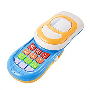 ThinkMax Baby Musical Mobile Phone Electronic Learning Toys for Baby