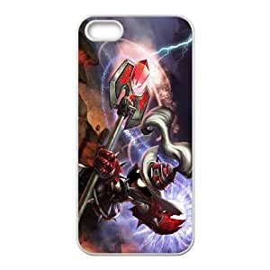 iPhone 5 5s Cell Phone Case White League of Legends White Mage Veigar LK1637521