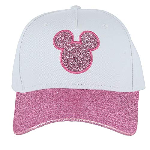 Disney Adult Hat Mickey Mouse Shimmer Pink