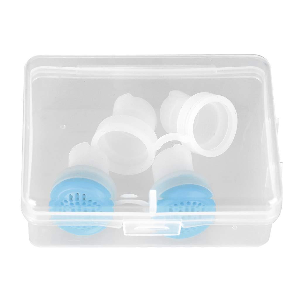 dispositivo anti-russamento de silicona, alivia de forma eficaz EL dilatador Nasal antirronquidos y anti-russamento para mejorar La apnea nocturna para ...