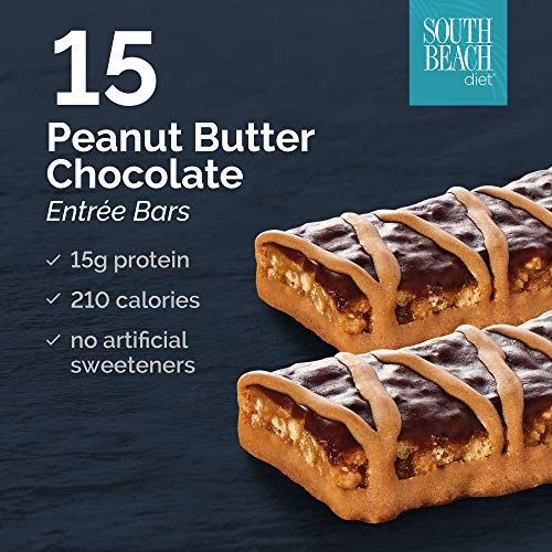 (South Beach Diet® Peanut Butter Chocolate Entrée Bar,)