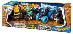 Hot Wheels Monster Jam Tour Favorites – Styles May Vary