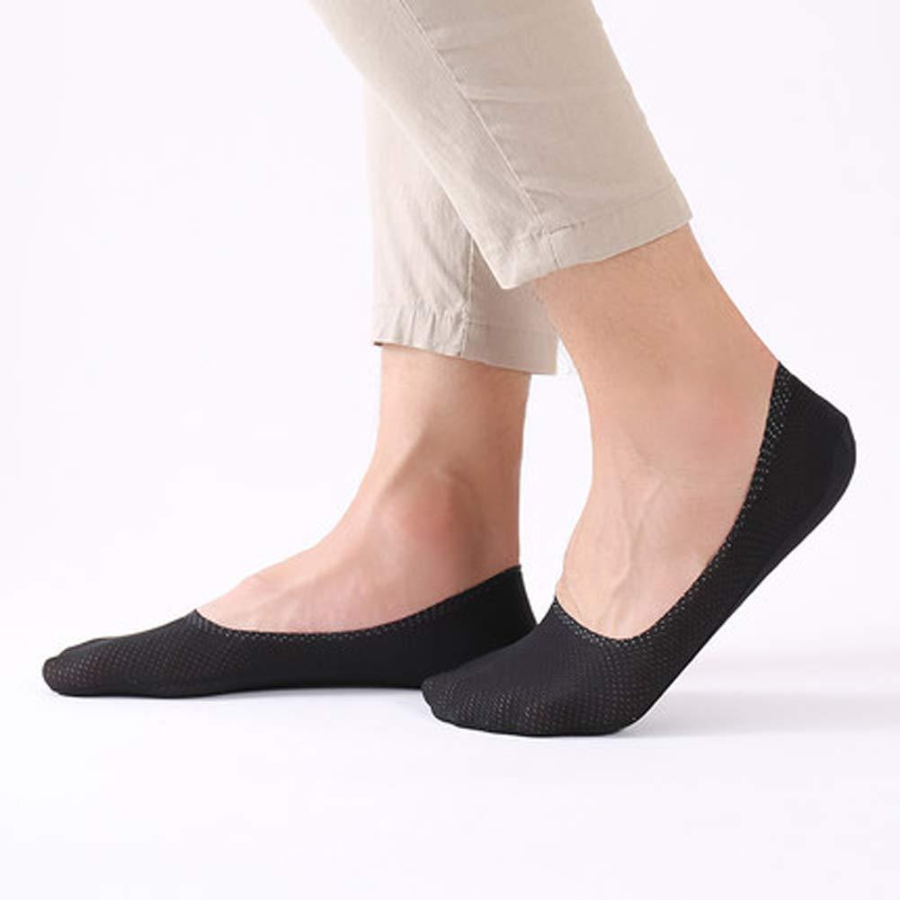 Set of 5 Breathable Ice Silk Socks for Men /& Women