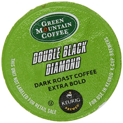 Green Mountain Darkest Extra Bold Coffee Double Black Diamond K-Cup for Keurig Brewers (Pack of - Green Black